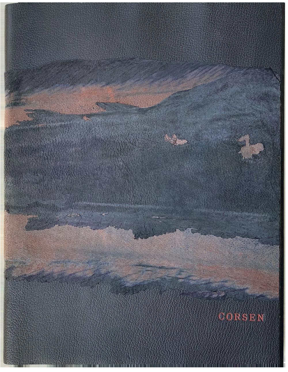 Reliure d'art de Corsen, par Annie Robine